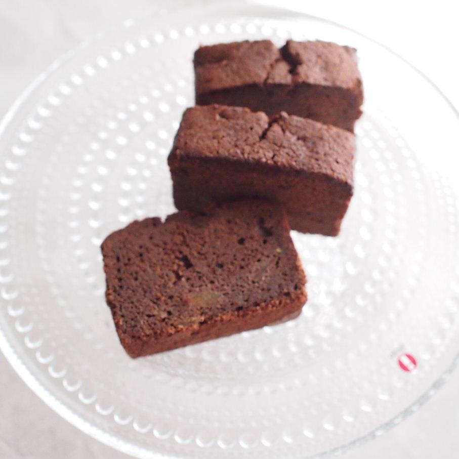 ココアと梅ジャムのパウンドケーキ howatto