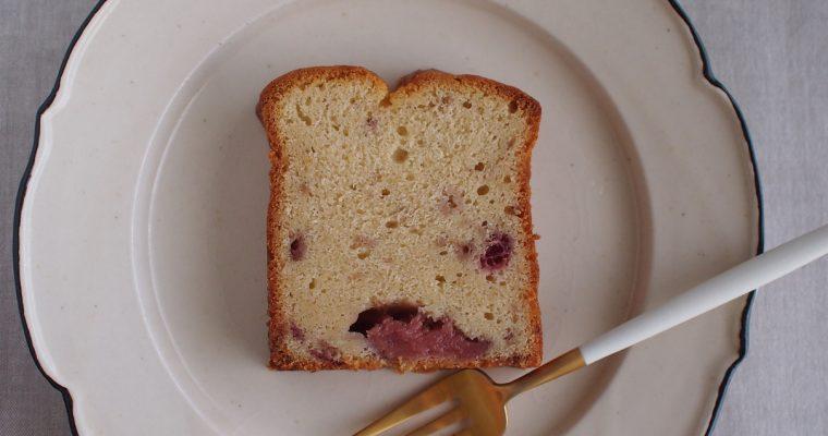 苺のパウンドケーキできました